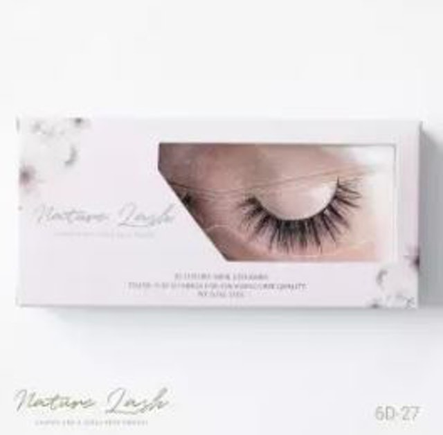 Nature Lash ขนตาปลอม 6D-27 1