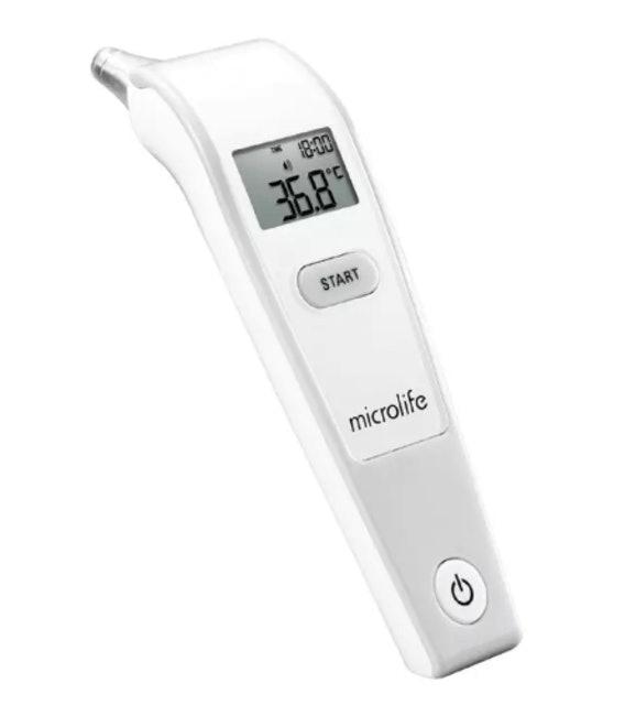 Microlife  เครื่องวัดอุณหภูมิทางช่องหู รุ่น IR 1DF1-1  1