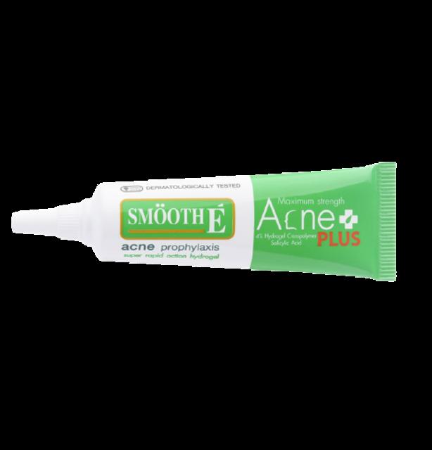SMOOTH E ไอเทมรักษาสิว สำหรับผิวมัน Acne Hydrogel Plus 1