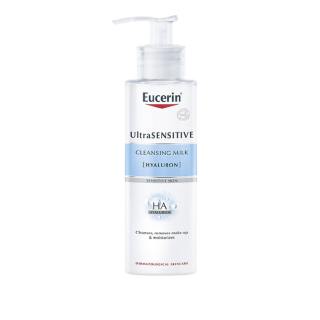 Eucerin ผลิตภัณฑ์ Eucerin UltraSENSITIVE [HYALURON] Cleansing Milk 1