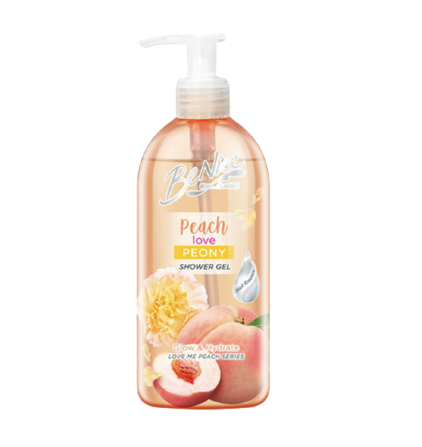 BeNice Peach Love Peony Shower Gel 1