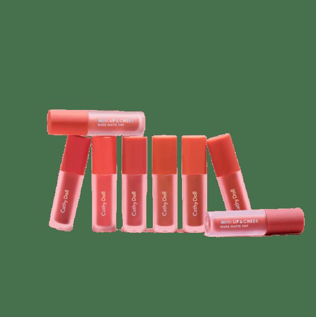 CATHY DOLL Mini Lip & Cheek Nude Matte Tint  1