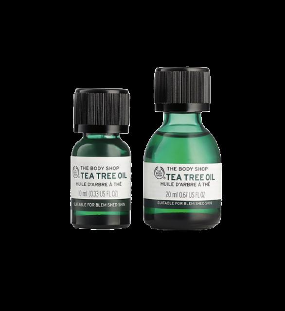 THE BODY SHOP ไอเทมรักษาสิว สำหรับผิวมัน Tea Tree Oil 1
