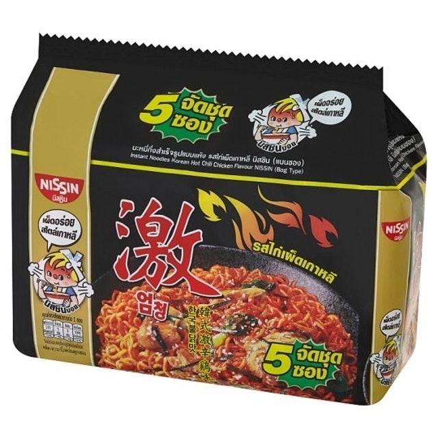 Nissin บะหมี่กึ่งสำเร็จรูป รสไก่เผ็ดเกาหลี 1