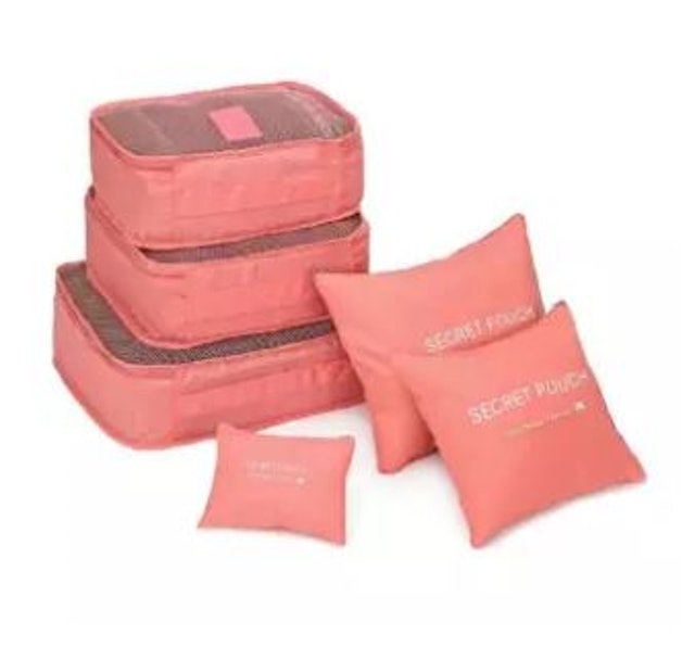Unbanned Travel Organizers Packing Pouches Set 6 Pieces 1
