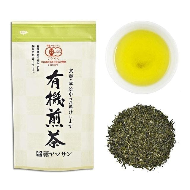 Kyoto Uji Yamasan ชาเขียวญี่ปุ่น Green tea Organic Karigane Tea  1