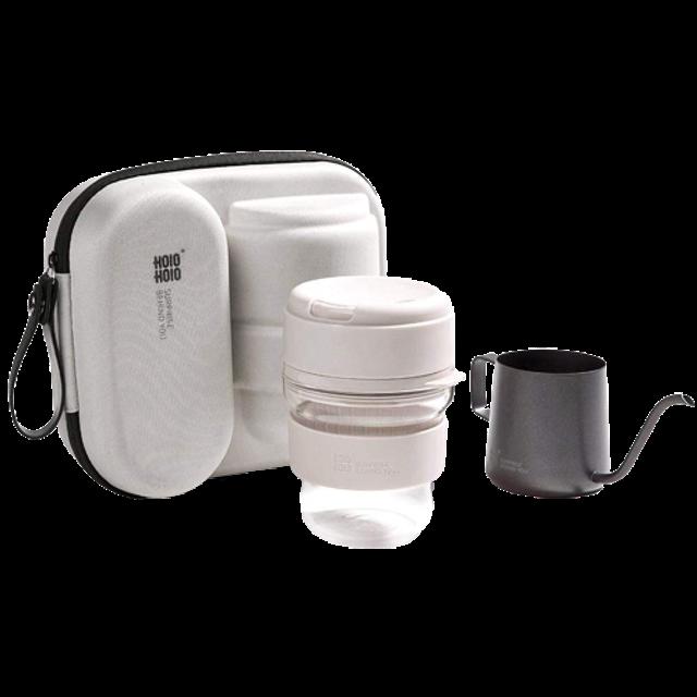 HOlOHOlO อุปกรณ์สำหรับเดินป่าและแคมป์ปิ้ง Coffee Brewing Kit 1