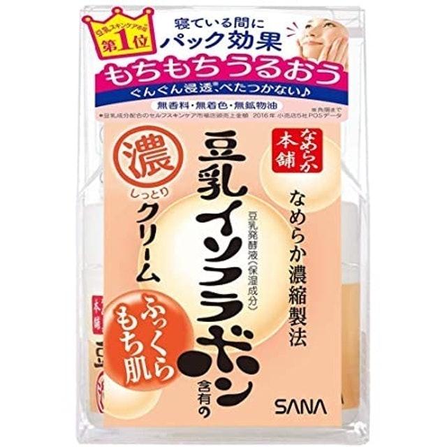 SANA  มอยเจอร์ไรเซอร์ Nameraka Honpo Soy Milk Moisture cream 1
