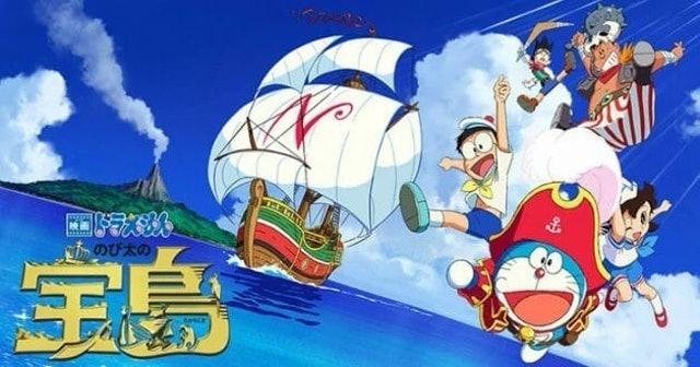 Fujiko F. Fujio, Fujiko Fujio Doraemon the Movie: Nobita's Treasure Island 1