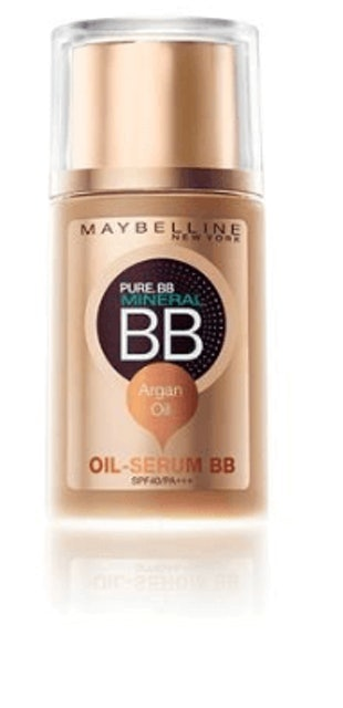 MAYBELLINE NEW YORK  PURE.BB MINERAL BB OIL-SERUM BB SPF40/PA+++ #Medium 02 1