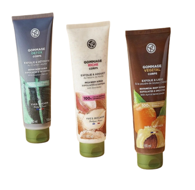 Yves Rocher สครับผิว Gommage Vegetal Corps 1