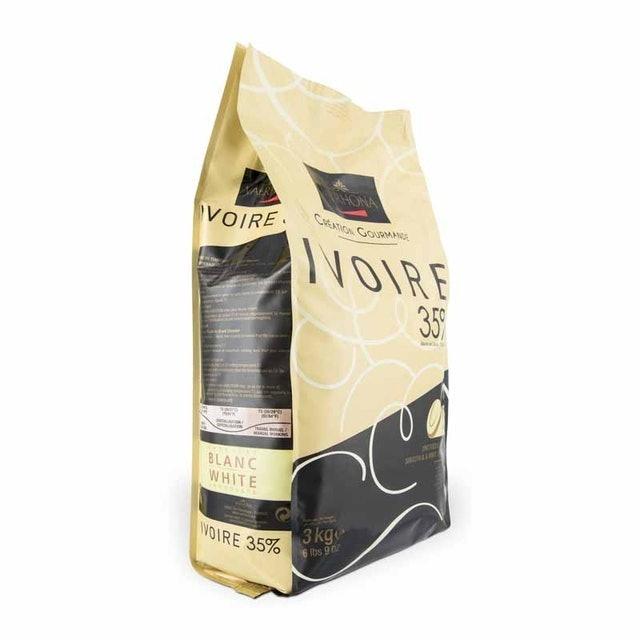 Valrhona ช็อกโกแลต Ivoire 35% (100 g) 1