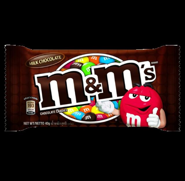 M&M ช็อกโกแลต Milk Chocolate 1