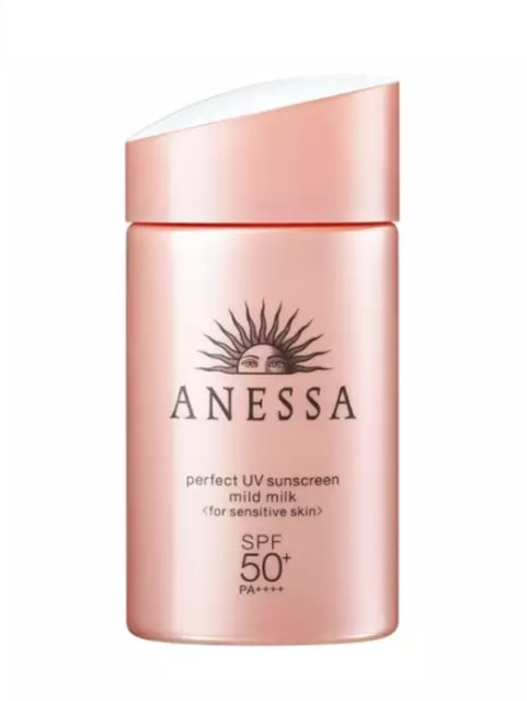 ANESSA  Perfect UV sunscreen mild milk SPF50+ PA++++ (For Sensitive Skin) (60 ml) 1