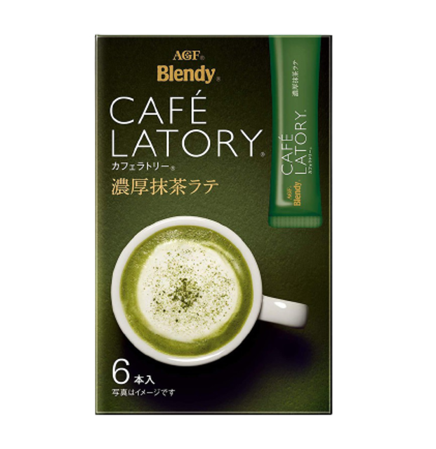 AGF ชาเขียวญี่ปุ่น Blendy Cafe Latory Matcha Latte  1