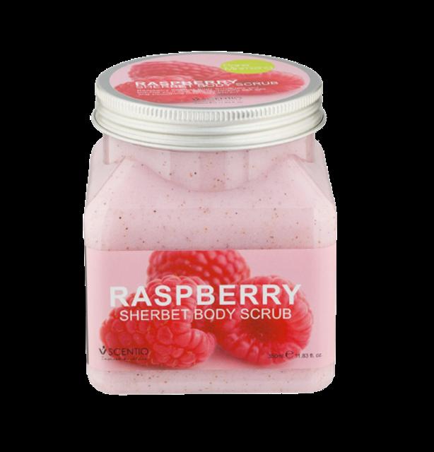 Scentio สครับผิว Raspberry Sherbet Body Scrub 1