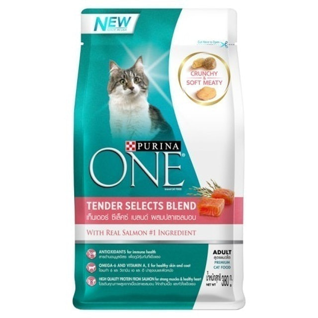 Purina One Tender Selects Blend Salmon 1