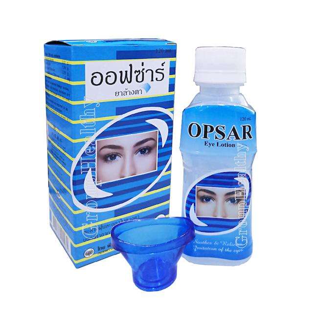 OPSAR น้ำยาล้างตา 1