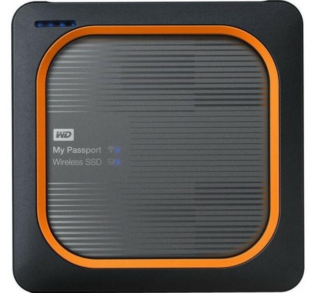 WD External Hard Drive SSD Wireless 1