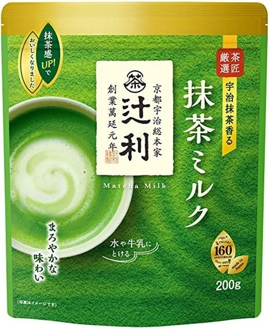 Tsujiri ชาเขียวญี่ปุ่น Matcha Milk 1