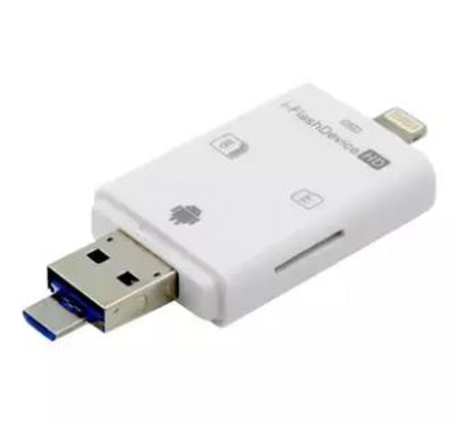 i-Flash  Device 3 in1 USB Card reader 1