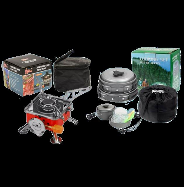 MT Battery อุปกรณ์สำหรับเดินป่าและแคมป์ปิ้ง Set เดินป่า ครัวสนาม 1