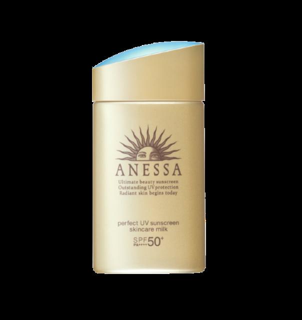 Anessa อุปกรณ์เที่ยวญี่ปุ่น Perfect UV Sunscreen Skincare Milk 1