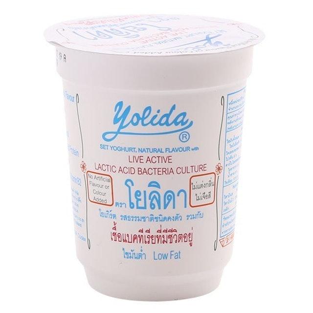 Yolida ของว่าง อาหารคลีน โยเกิร์ตรสธรรมชาติ 1