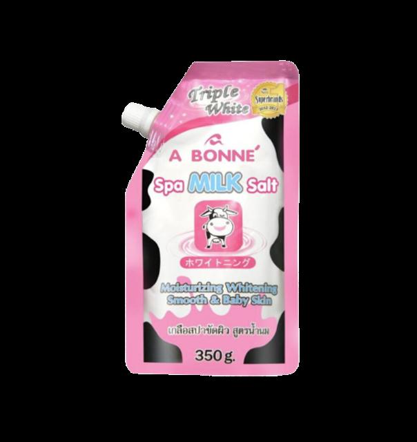A Bonne สครับผิว Spa Milk Salt 1