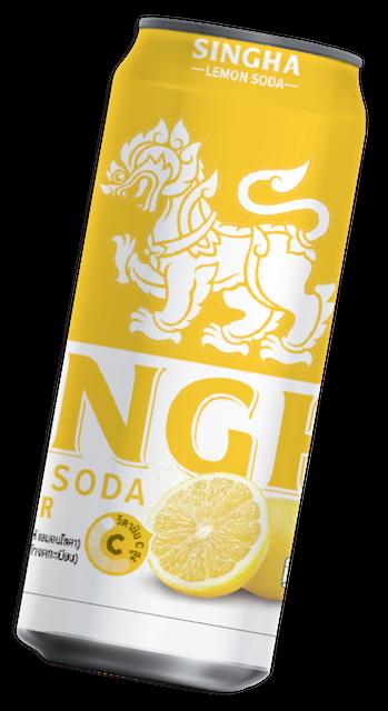 Singha เครื่องดื่มเพื่อสุขภาพ เลมอนโซดา 1