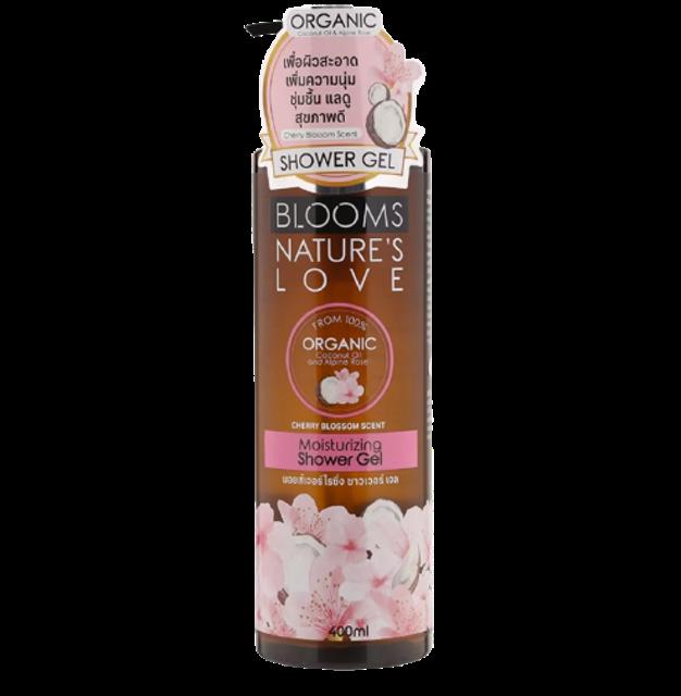 Blooms Nature's Love ผลิตภัณฑ์ PETA #CrueltyFree Moisturizing Shower Gel 1