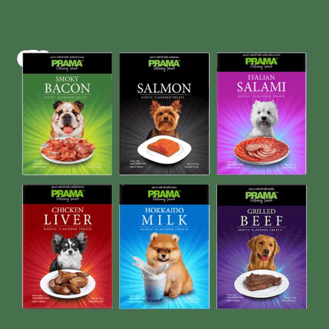 Prama Delicacy Snack ขนมสุนัข 1