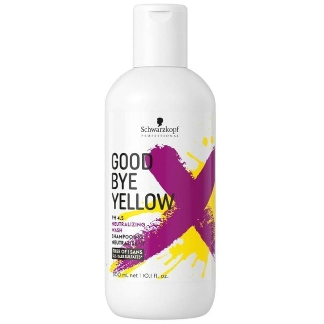 Schwarzkopf Goodbye Yellow Shampoo 1