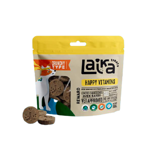 Laika Treats ขนมสุนัข Happy Vitamins 1