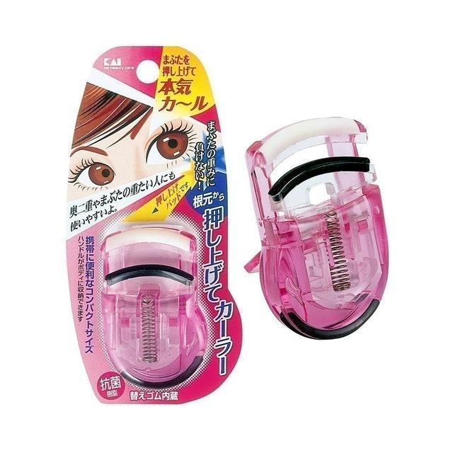KAI ที่ดัดขนตา Eyelash Push Up Curler Pink 1