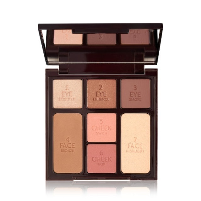 Charlotte Tilbury Instant Look In A Palette Stoned Rose Beauty 1