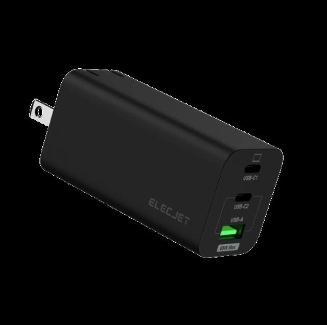 Elecjet Gadget สำหรับ iPhone X21 GaN 65W PD Charge 1