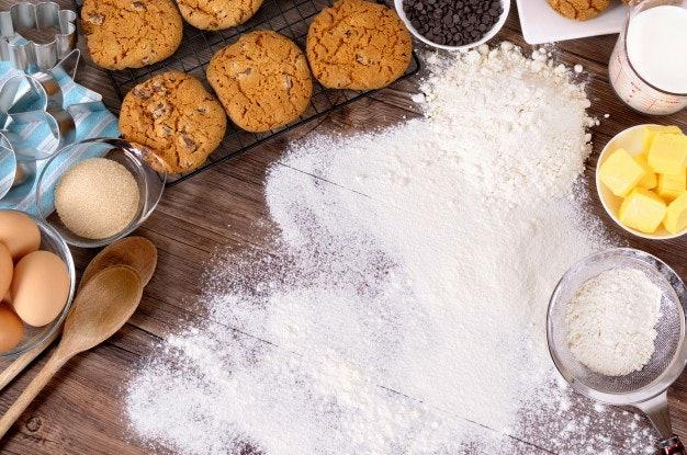 ตรวจสอบส่วนผสมอื่น ๆ ในคุกกี้ธัญพืช เช่น น้ำตาล และสารกันเสีย