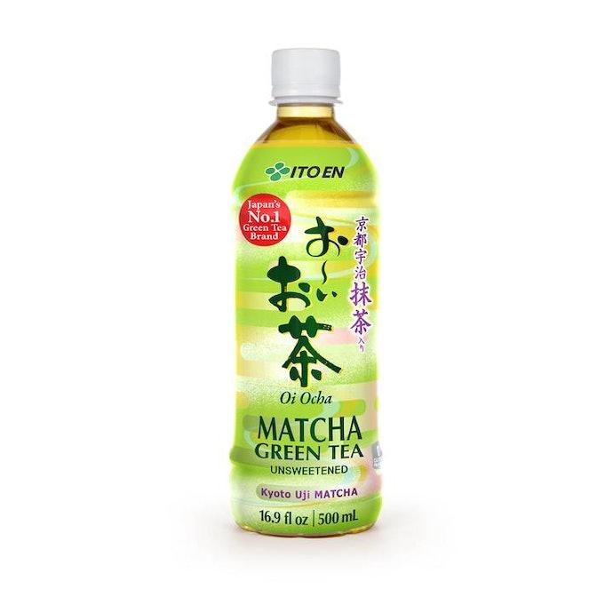 เลือกชาเขียวแบบขวดพร้อมดื่ม