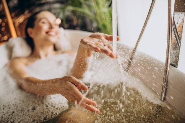 ตรวจสอบฟังก์ชันเสริมของอ่างอาบน้ำ