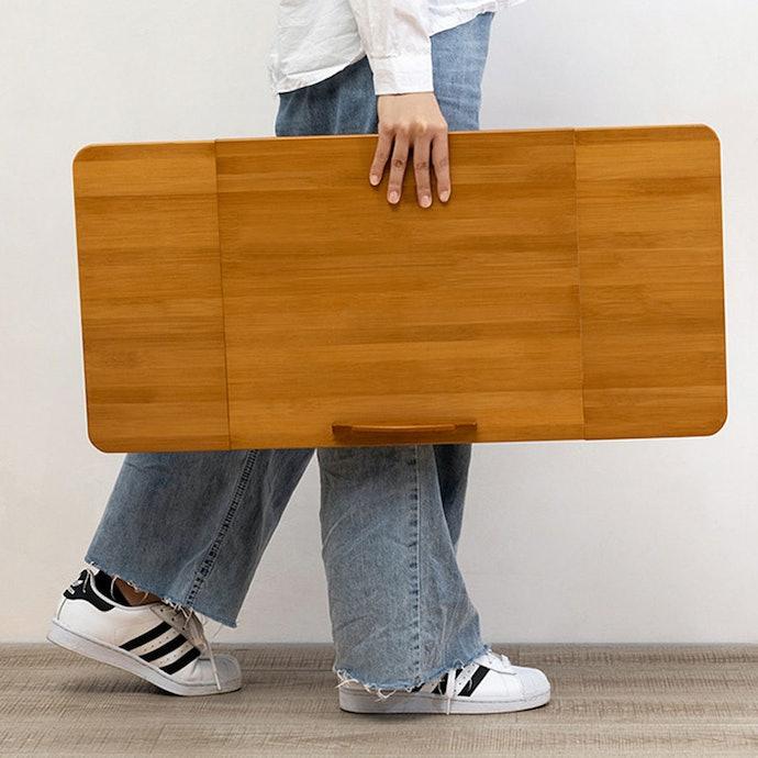 เลือกโต๊ะที่พับเก็บได้ในพื้นที่จำกัด เพื่อความสะดวกยิ่งขึ้น !