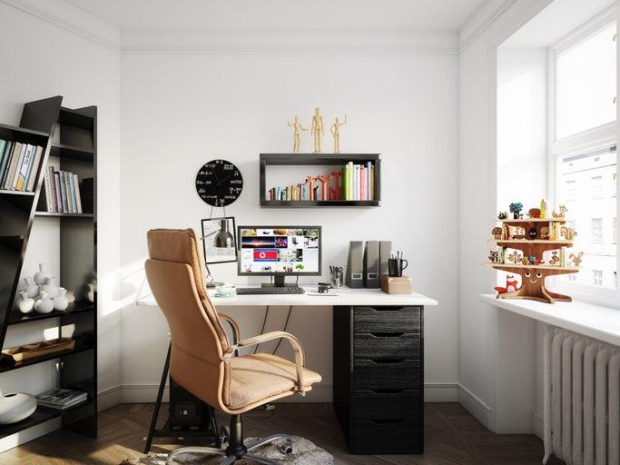 เลือกรูปทรงของโต๊ะคอมพิวเตอร์ให้เหมาะสมกับการใช้งาน
