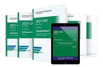 เลือกหนังสือเตรียมสอบ CFA ที่มีเนื้อหารวบรัด มีสรุปสูตร สำหรับคนที่ไม่ค่อยมีเวลาเตรียมตัว