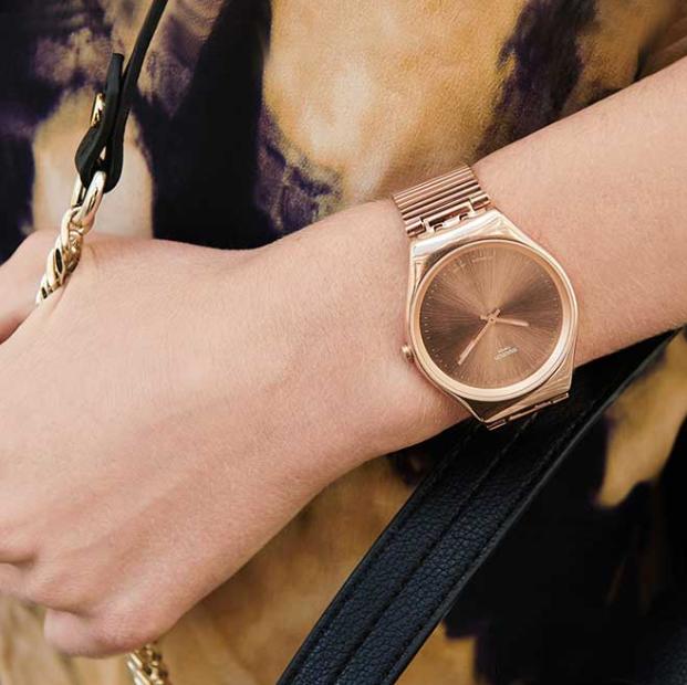 """นาฬิกา Swatch : """"Irony"""" เน้นความหรูหรา ทางการ"""