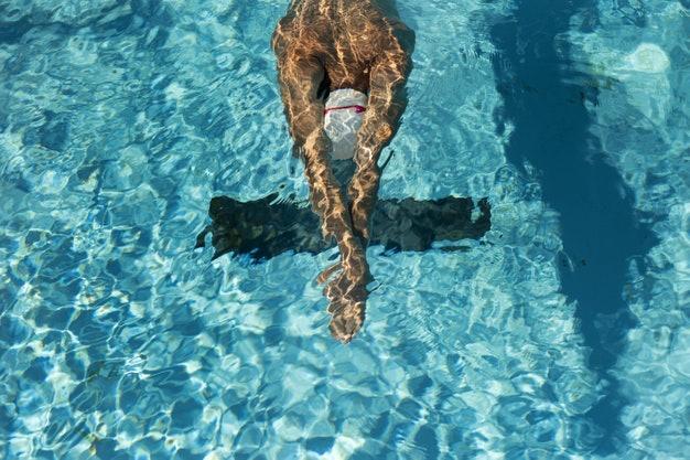 ที่อุดหูสำหรับว่ายน้ำ