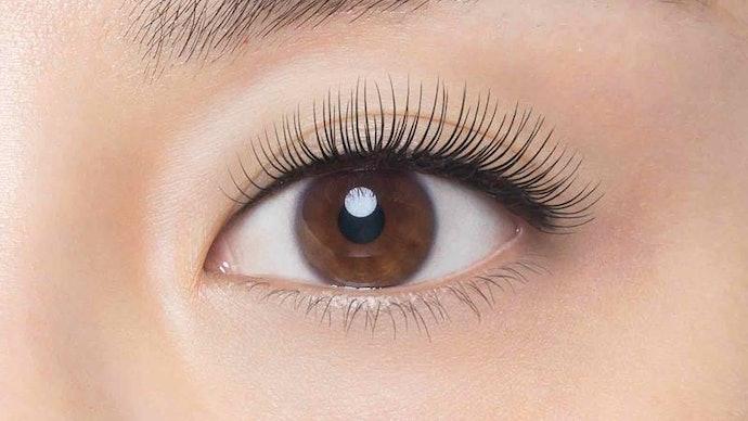เลือกประเภทที่เติมเต็มข้อบกพร่องของขนตาได้