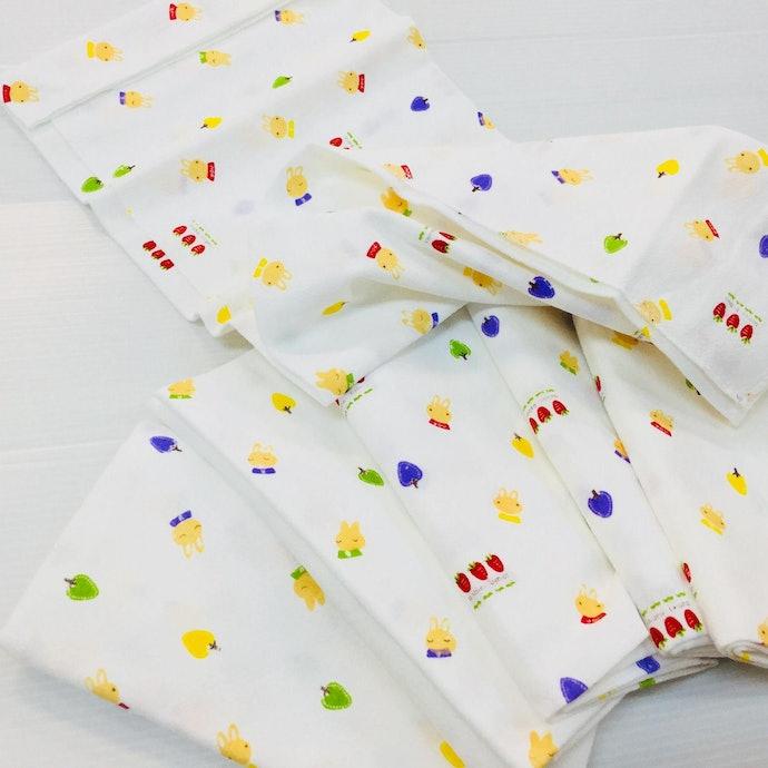 ประเภทผ้า : สามารถพับได้หลากหลายรูปแบบ