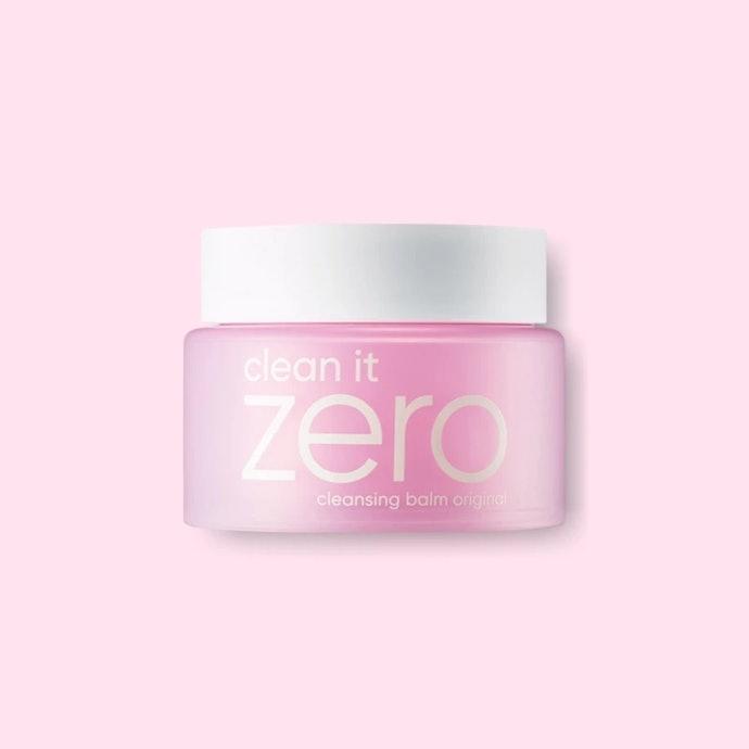 Clean It Zero Cleansing Balm สีชมพู