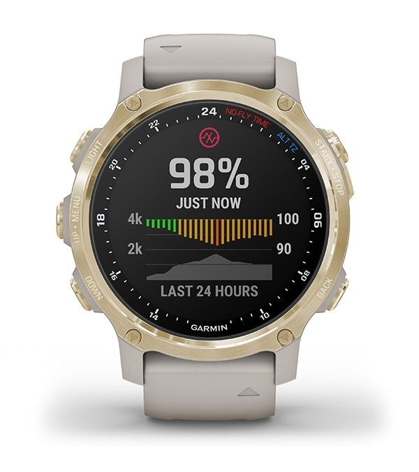 นาฬิกา Garmin ที่มีฟังก์ชัน Pulse Ox สำหรับวัดปริมาณออกซิเจนในเลือด