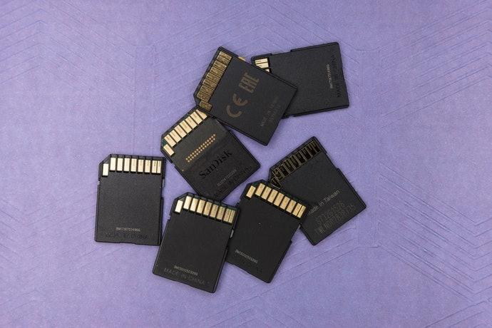 การ์ดความจำราคาย่อมเยาที่ใช้ใน GPS นำทางอย่างแพร่หลาย